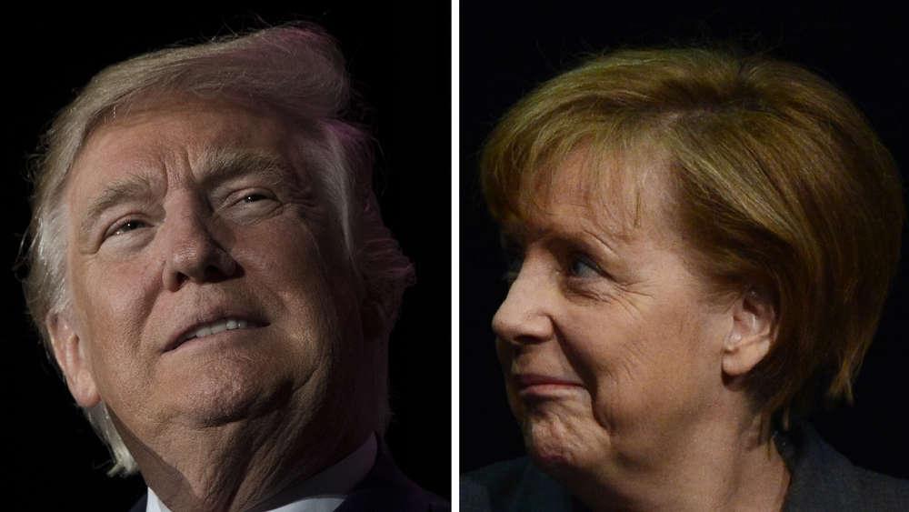 Erste Kontakte zwischen Merkel und Trump sorgten für Irritationen