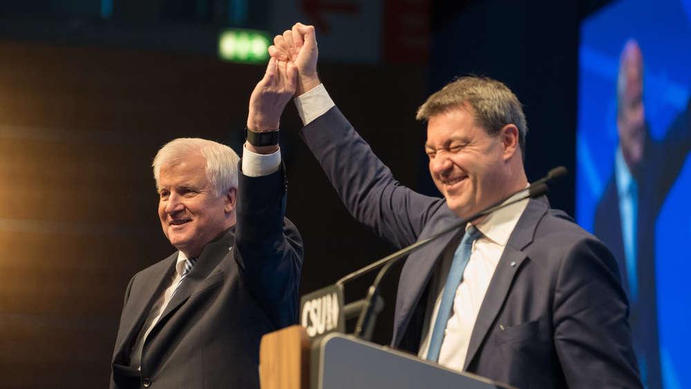 Jährlicher Bayerntrend: Umfrage-Schock: CSU fällt auf schlechtesten Wert seit 20 Jahren