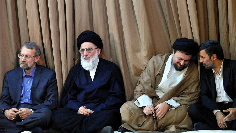 Treffen bei Irans geistlichem Oberhaupt Ajatollah Ali ChameneiAyatollah Mahmud Schahrudi