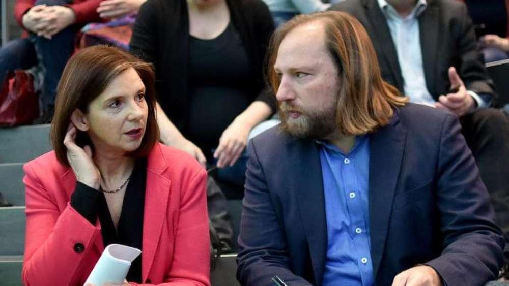 Weiter mit Göring-Eckardt und Hofreiter: Grünen-Fraktionsspitze bestätigt
