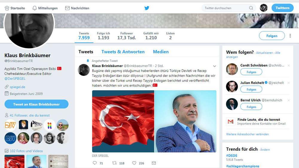 Twitter-Account von