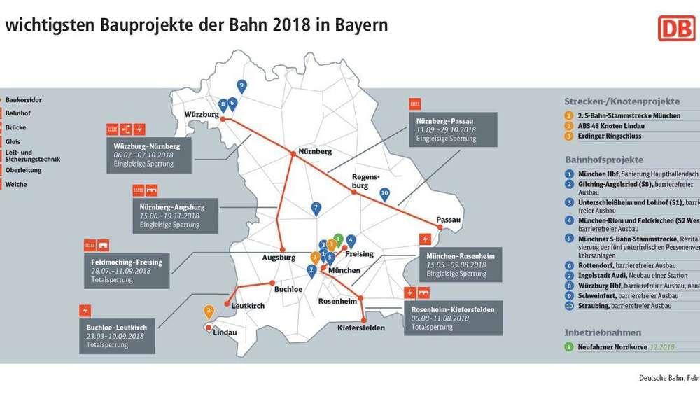 Deutsche Bahn erneuert für über eine Milliarde ihr Schienennetz