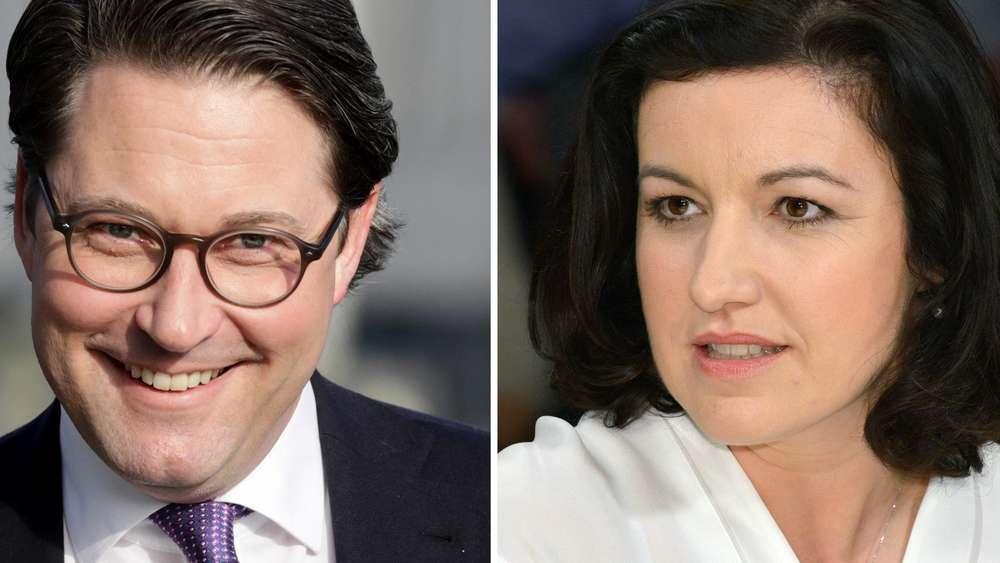 Sitzungsteilnehmer - CSU nominiert Scheuer und Müller als Bundesminister