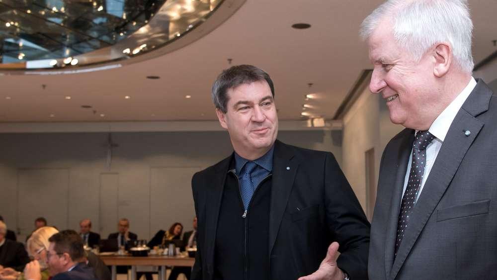 CSU setzt 16. März als Termin für Söder- Wahl in Bayern durch