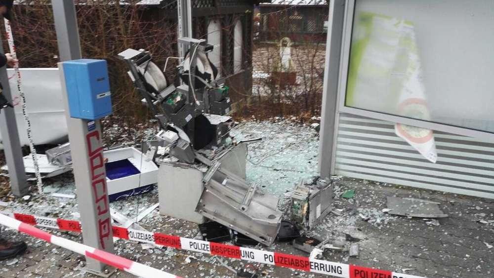Automaten gesprengt: Täter aus Niederbayern