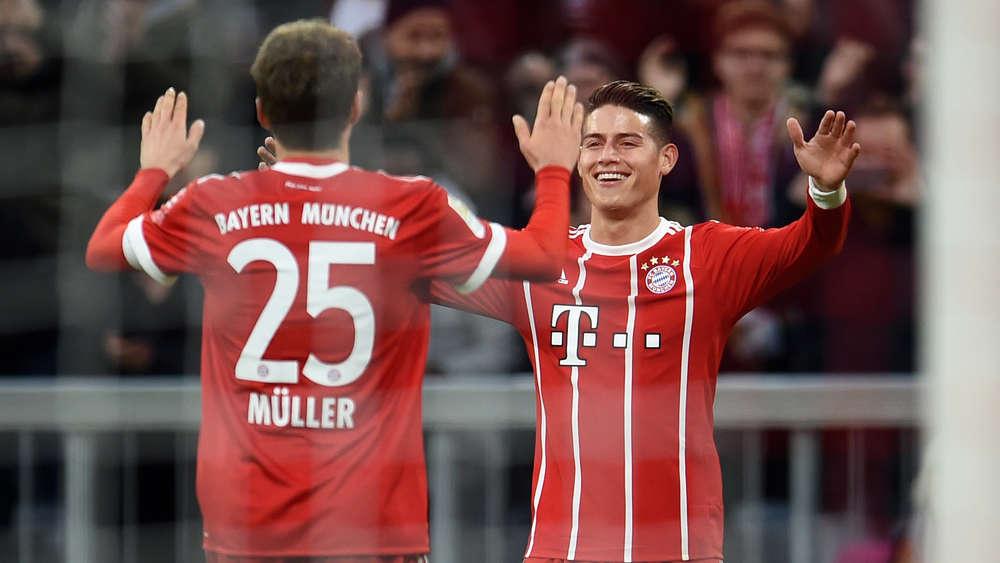 Bayern-Entscheidung über James gefallen