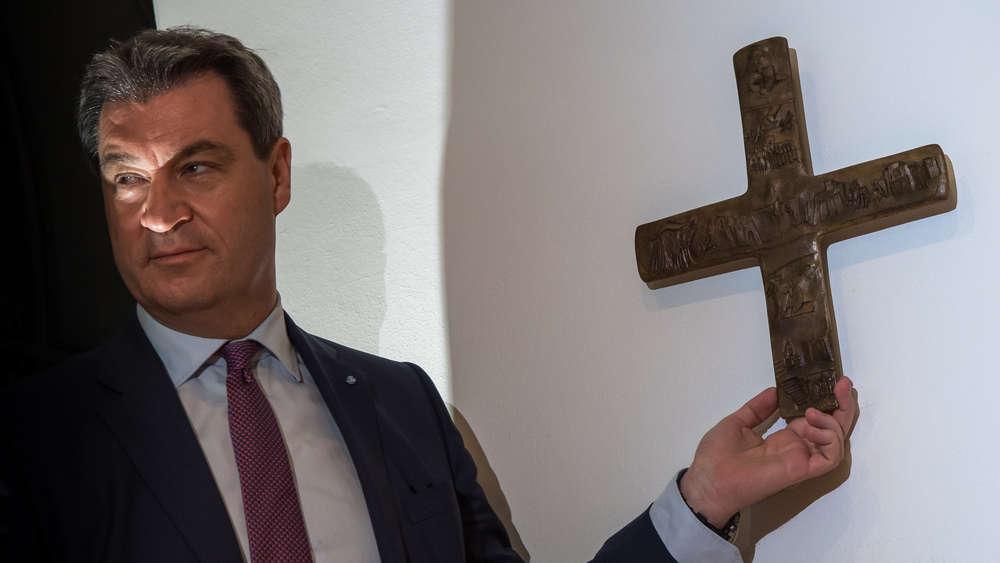 Söder mit Kreuz