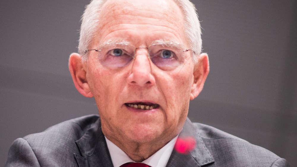 Schäuble will