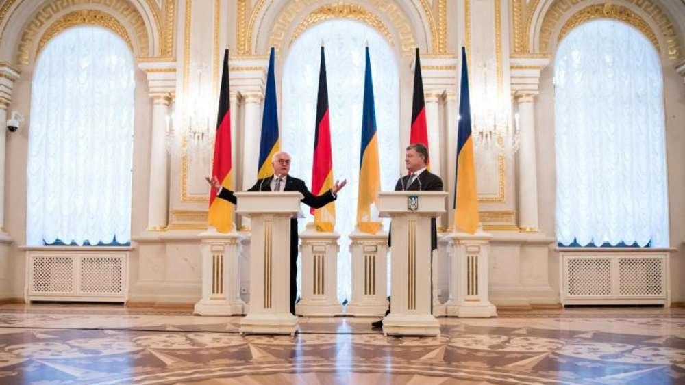 Reformprozess voranbringen: Bundespräsident Steinmeier besucht die Ukraine