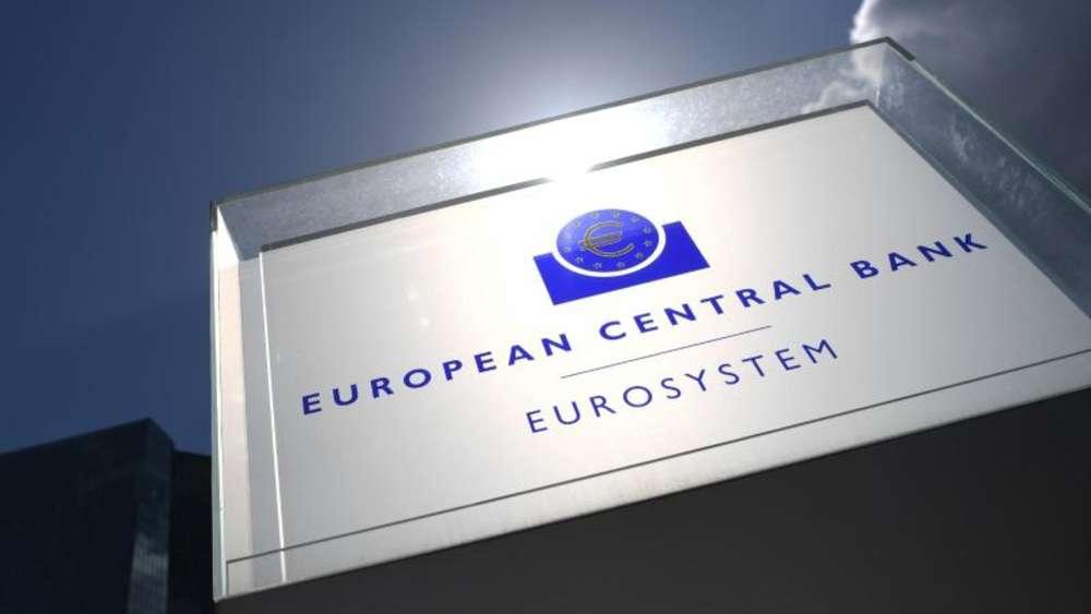 Zentrale der Europäischen Zentralbank in Frankfurt am Main
