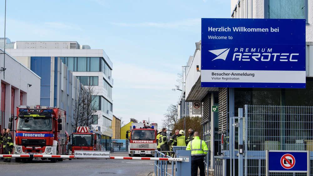 Augsburg: Feuer bei Airbus-Tochter Premium Aerotec