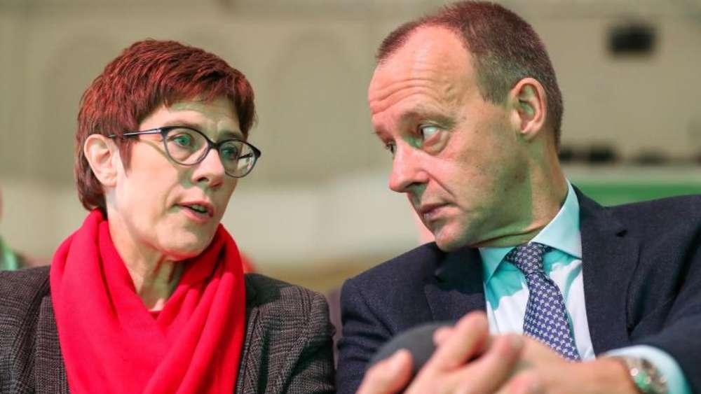 Einigung mit Kramp-Karrenbauer: Friedrich Merz' neue Rolle in der CDU
