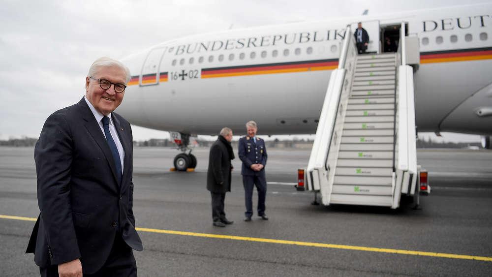 Steinmeier sitzt wegen Defekts an Regierungsflieger in Äthiopien fest