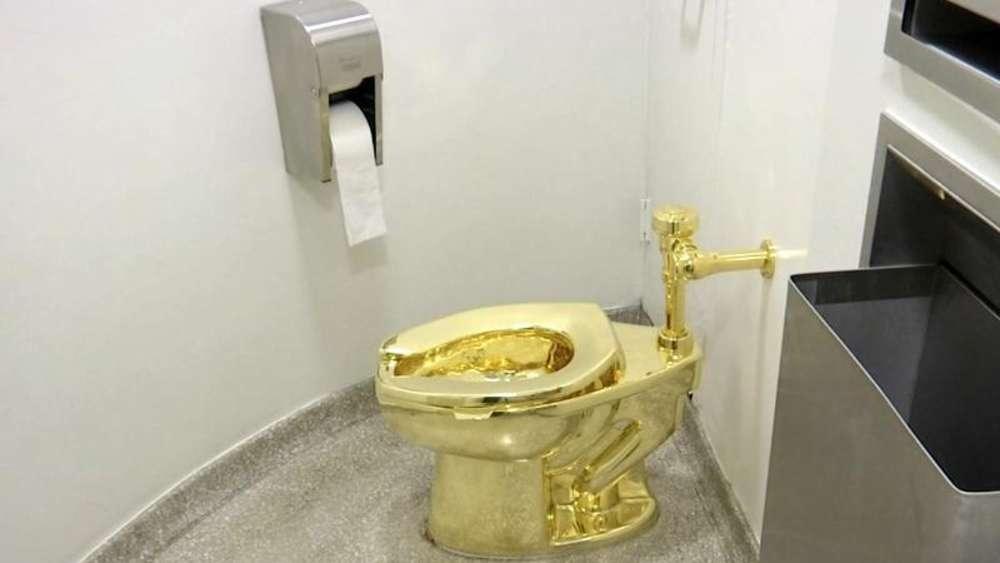 Großbritannien - Klo aus Gold im britischen Blenheim-Palast gestohlen