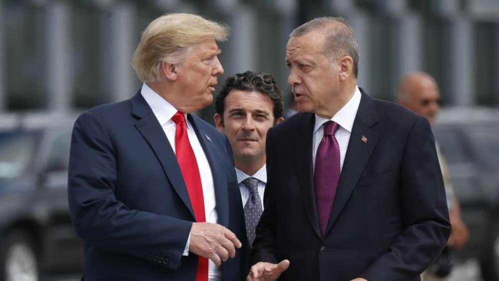 Trump über seinen Gast Erdogan: