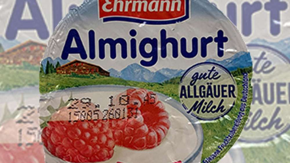 Metallteile im Joghurt! Ehrmann ruft Himbeer-Almighurt zurück