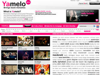 Screenshot yamelo.com