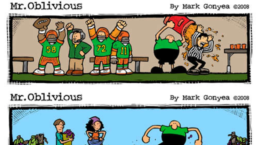 Mr. Oblivious&#39 Cartoons