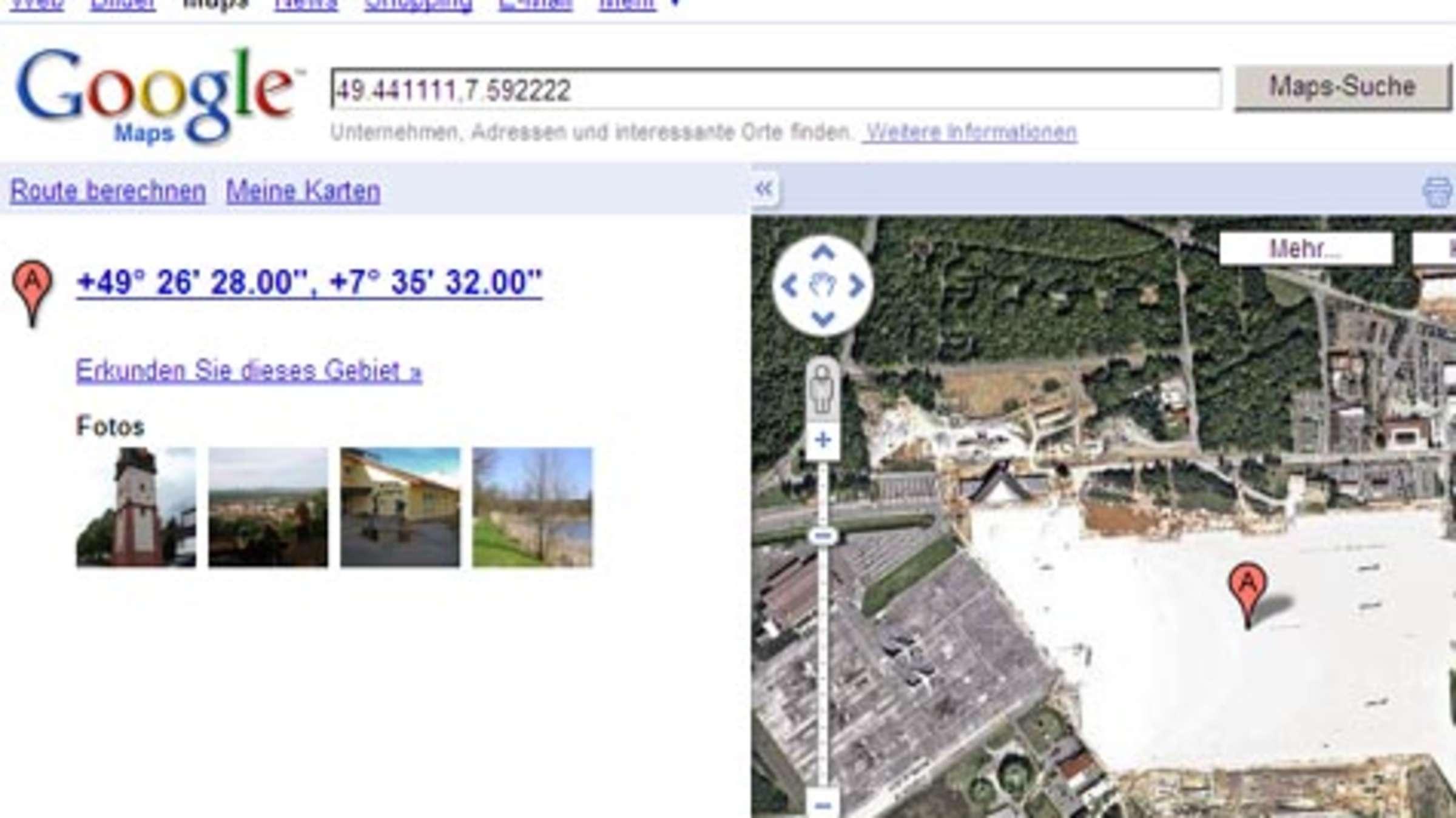 Zensur Bei Google Maps Viele Orte Sind Verpixelt Ubermalt Oder