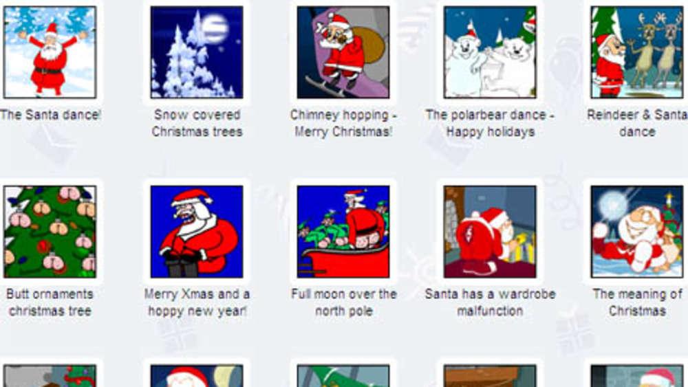 Virtuelle Weihnachtskarten.E Cards Zu Weihnachten Multimedia