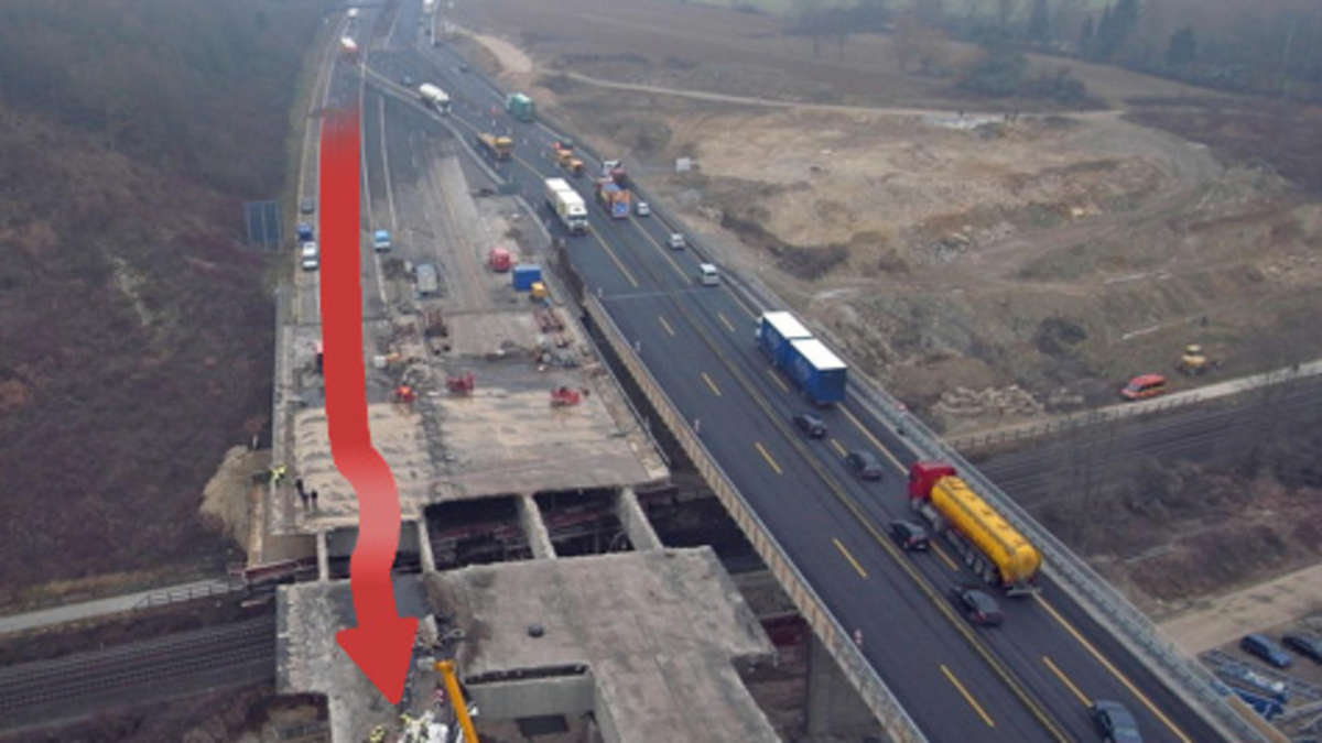 Unfall Brücke