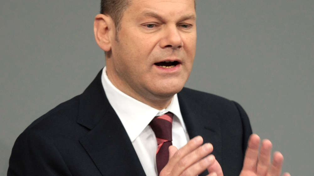 Arbeitsminister Olaf Scholz