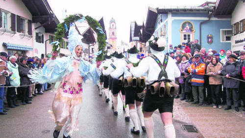 Mittenwalder Fasching in der Sparversion