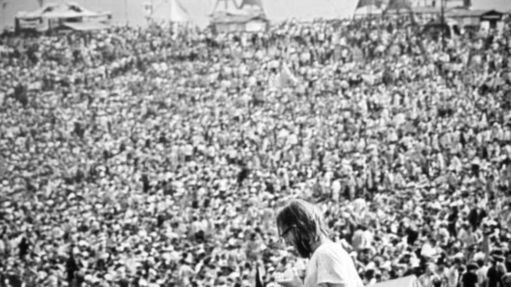 Das war Woodstock: am 15. August 1969 in Bethel , New York.