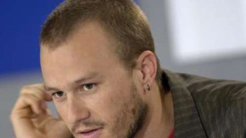 """Brokeback Mountain""-Star Heath Ledger tot"