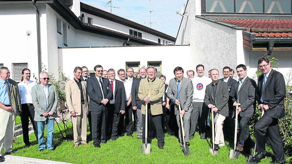 Bauunternehmen Erding brk baut neue fahrzeughalle mit depot erding