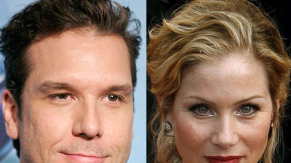 Dane Cook und Christina Applegate.