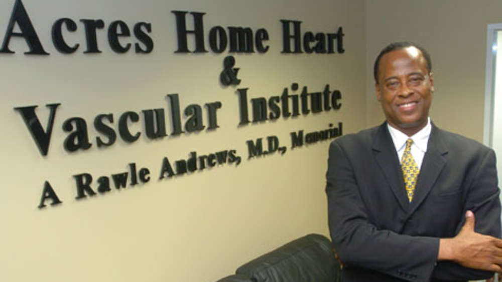 "Conrad Murray, ehemaliger Leibarzt von Michael Jackson (im ""Acres Homes Cardiovascular Center"" in Houston/Texas)."