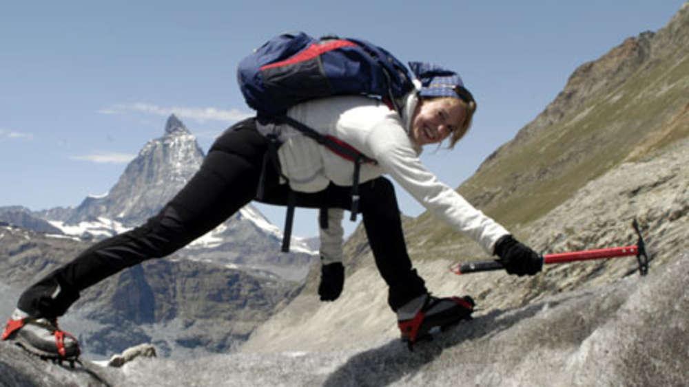 Klettergurt Für Gletscher : Gletscher trekking rund um das matterhorn reise