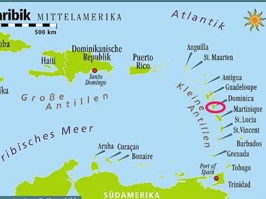 Kleine Antillen Karte.Dominica Ein Inselparadies In Der Karibik Reise