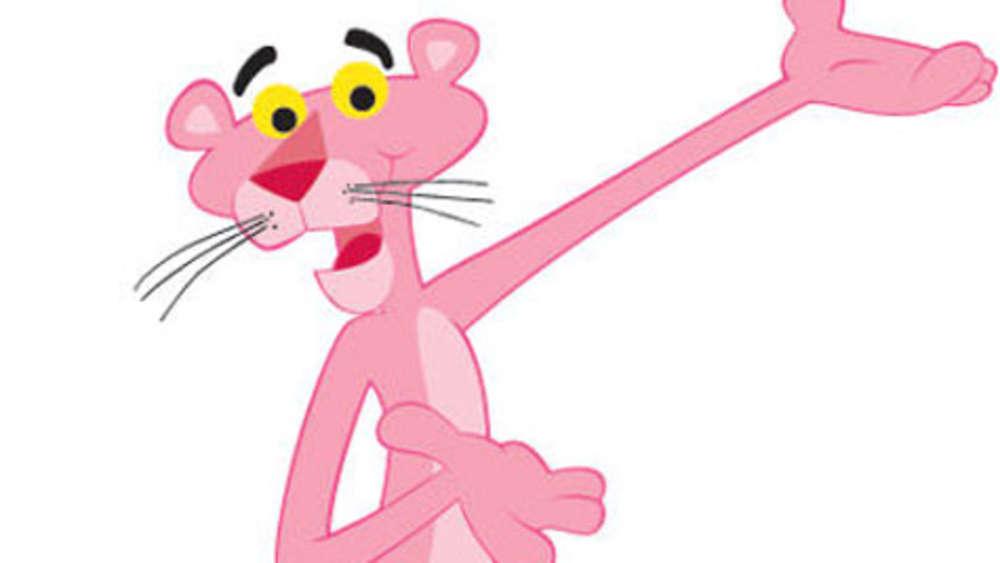 Rosaroter Panther