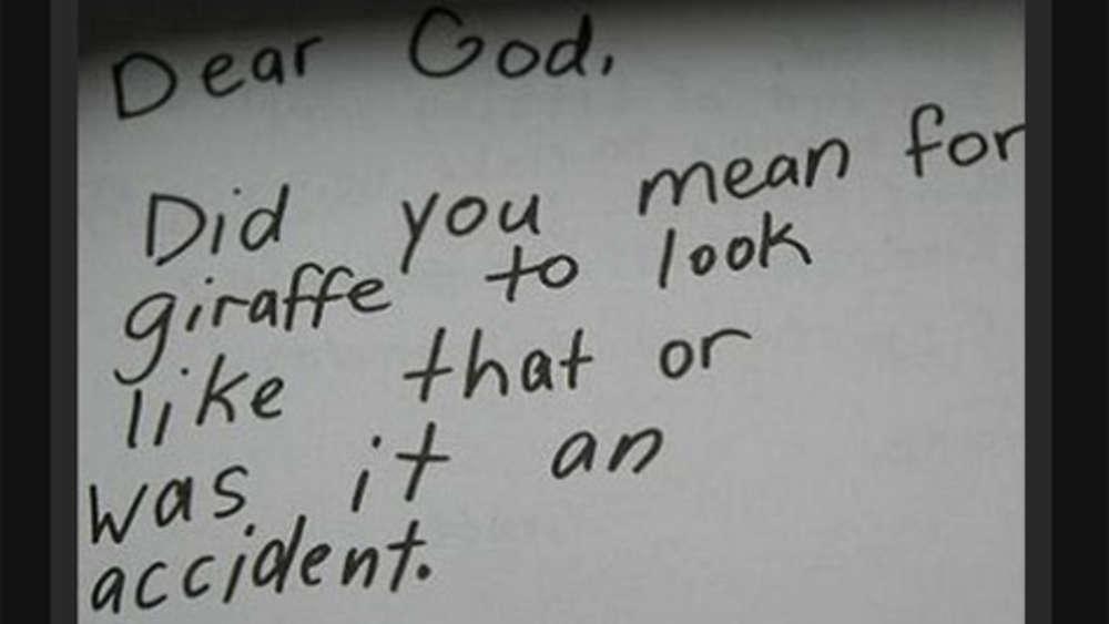 Kinderbriefe An Gott : Kinder schreiben an gott multimedia