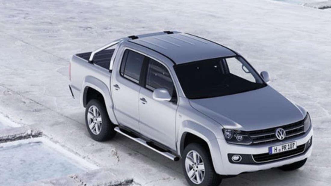 Amarok der neue VW Pickup