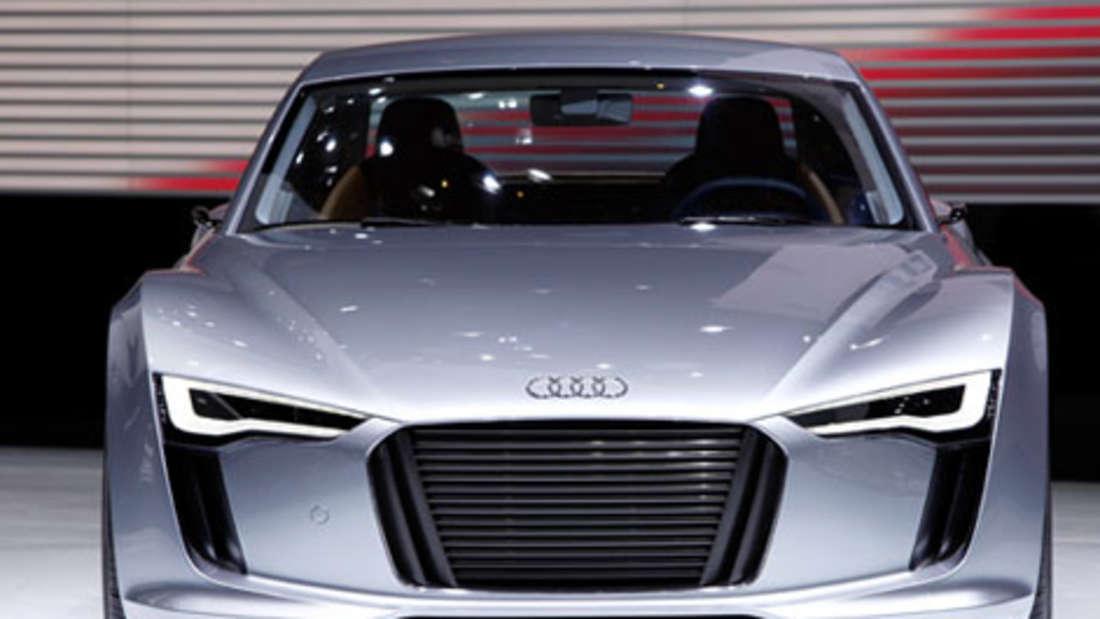 Audi e-tron Elektro Sport Elektromotor