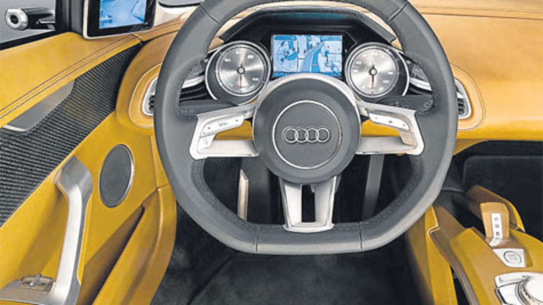 Audi e-tron Sportwagen Elektroantrieb
