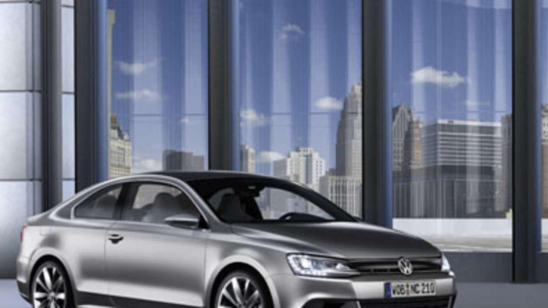 VW Coupé Hybrid Elektro VW New Compact Coupé