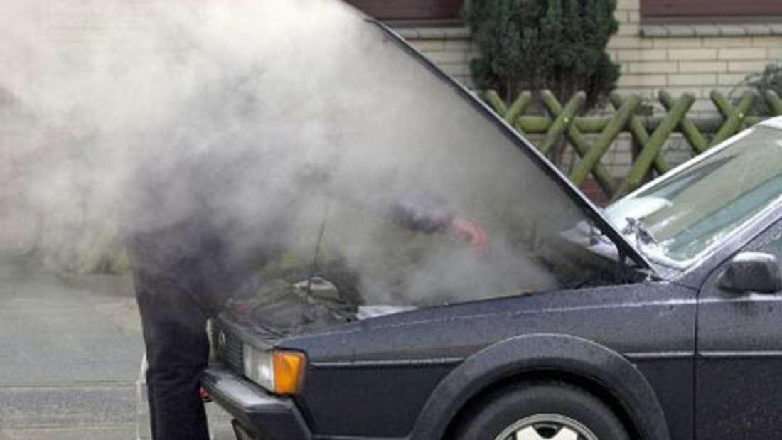 Waschen im Winter? Auto Pflege Ratgeber Tipps Frost Eis Schnee