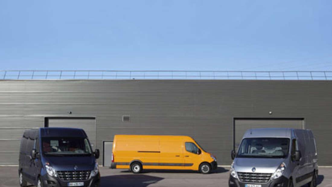 Renault Master Transporter Nutzfahrzeug