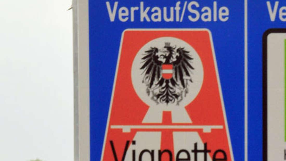 Pickerl für Österreich, Schweiz und Tschechien Autobahngebühr Motorrrad Auto Maut