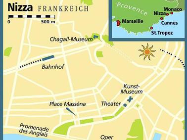 Altstadt Nizza Karte.Mondaner Mythos Nizza Von Der Italienischen Grafschaft Zur