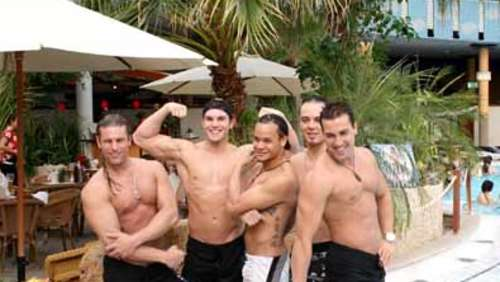 Chippendales in Therme Erding