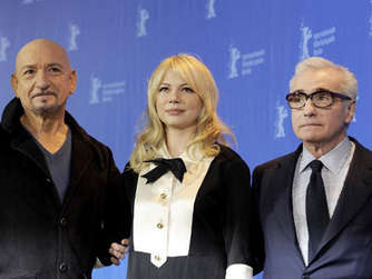 Sir Ben Kingsley, Michelle Williams Regisseur Martin Scorsese