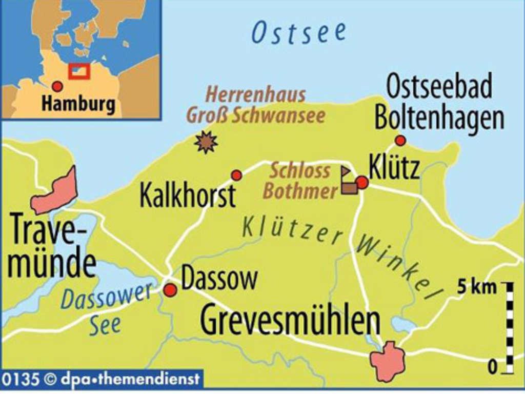 Ostseeküste vorpommern karte mecklenburg Mecklenburg Vorpommern