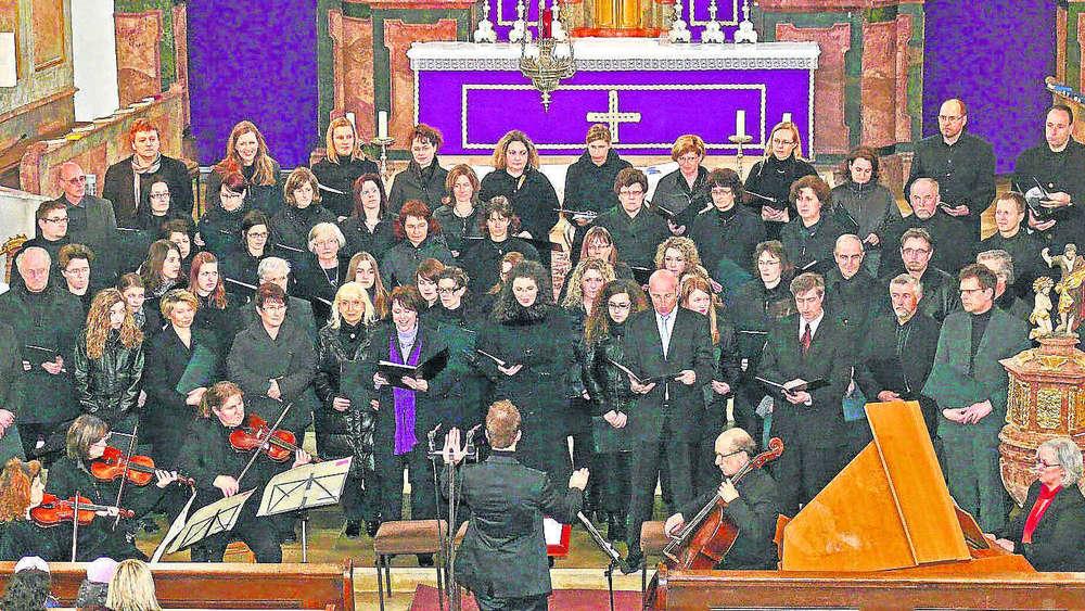 Aus Vier Mach Eins Bockhorns Chore Singen Bach Erding