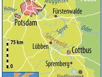 Spree Karte.Radweg An Der Spree Von Der Quelle In Die Hauptstadt Reise
