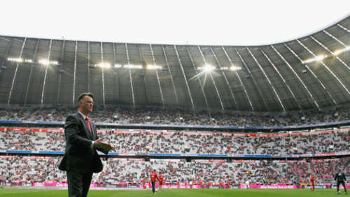 "Van Gaal: ""Theater-Publikum"" in der Allianz Arena"